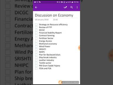 General Studies Discussion 6( economy 2)
