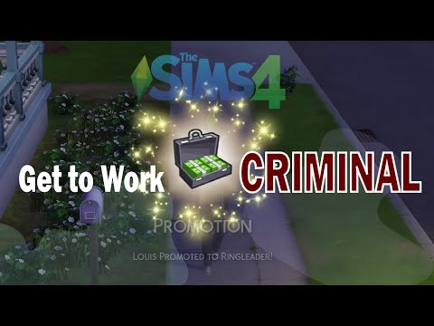 The Sims 4 Get to Work Criminal Ep.1 |