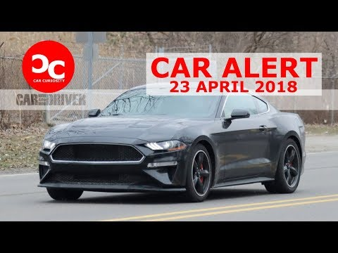 Ford's New Bullitt Mustang Spotted in Shadow Black