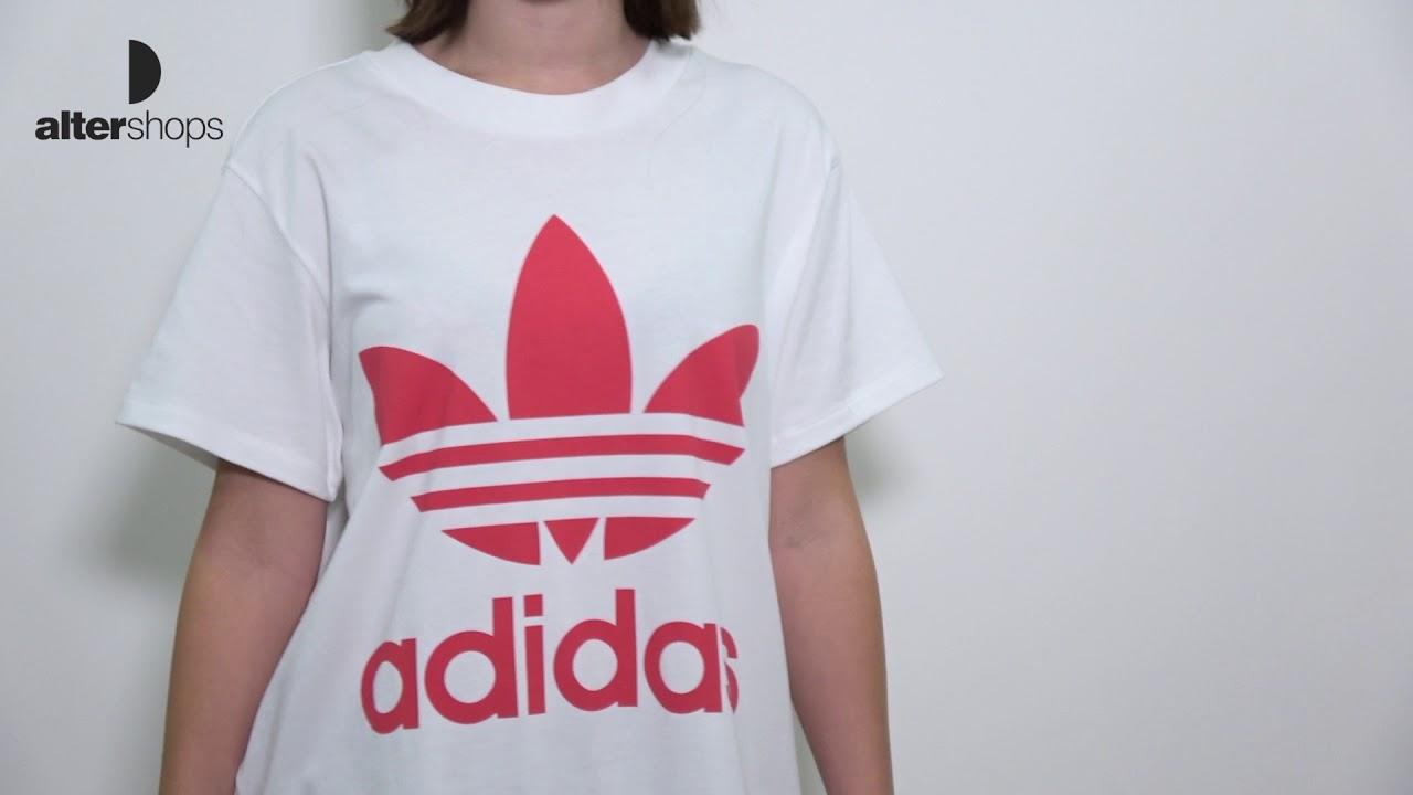 Camiseta adidas Originals Big Trefoil Tee cy2275 YouTube