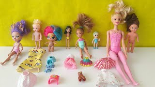 Hangi Kıyafet Hangi Bebeğin ? Barbie Lol Bebek Polly Pocket Elsa Enchantimals Kıyafet Giydirme