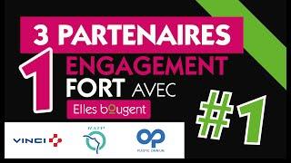 3 partenaires, 1 engagement fort avec Elles bougent ! #1 VINCI, RATP,…