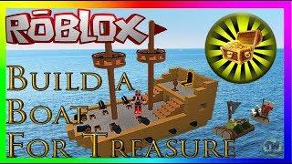 Roblox - Build A Boat For Treasure We Got Massive Boats