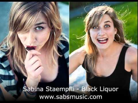 Sabina Staempfli - Black Liquor