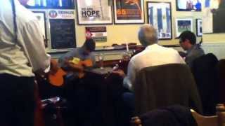 Gypsy jazz jam session Sunflower Belfast-Noto swing.