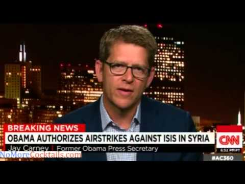 Watch Jay Carney on CNN try in vain to spin Obama's JV comment