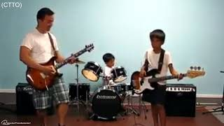 Faithful Love   Father and Sons Guitar & Drum Cover