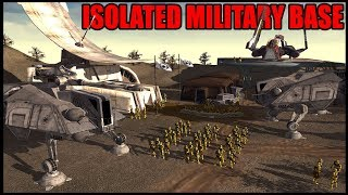 Isolated Clone Military Base Under Attack! - Men of War: Star Wars Mod Battle SImulator