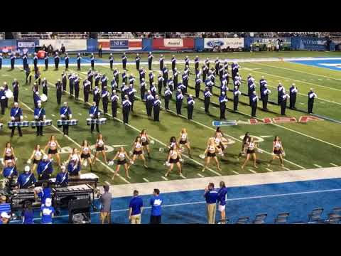 MTSU Band of Blue Classic Rock Halftime Show 9-2-17