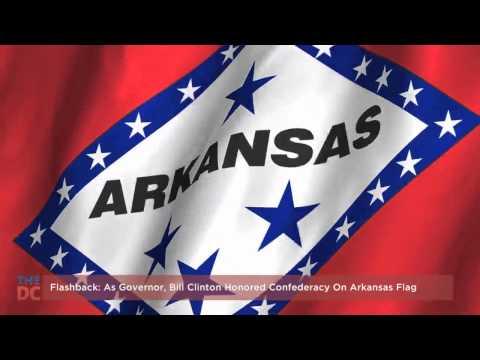 As Governor, Bill Clinton Honored Confederacy on Arkansas Flag