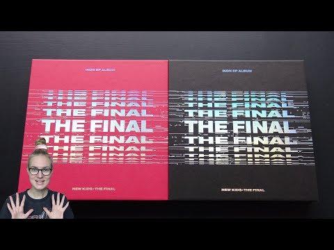 Unboxing iKON 아이콘 2nd Korean Mini Album NEW KIDS: THE FINAL (Both Red & Black Edition)