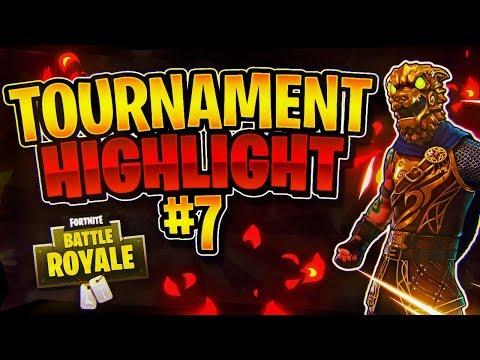 INSANE 34 KILL TOURNAMENT WIN! Tournament Highlight #7 (Fortnite Battle Royale)
