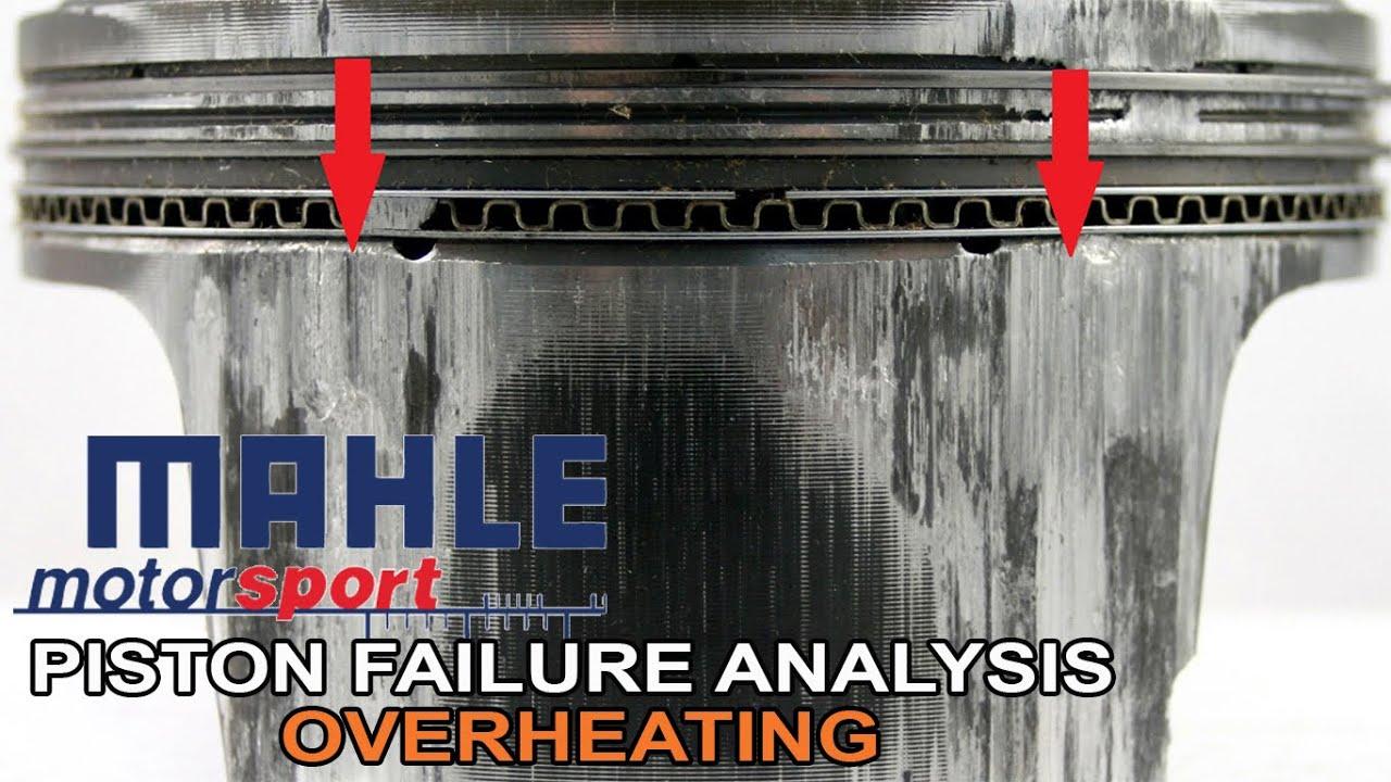 Piston Failure Analysis-Overheating