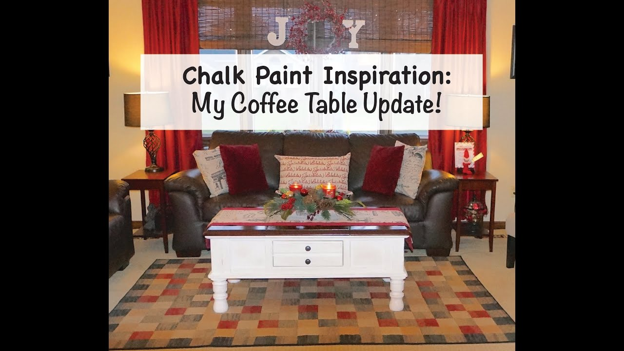 How to update furniture with chalk paint