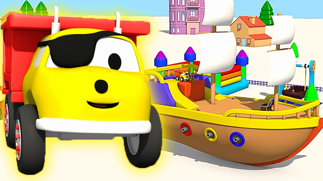 the pirate ship learn colors with ethan the dump truck