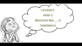 Gambar cover #8 Learn Japanese - Verb 3