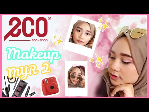 Testing Makeup RM2 Eco!! || BY AINA MAISARA
