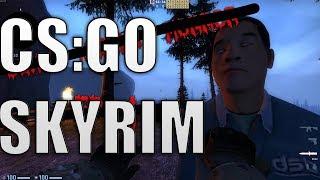 CS:GO SKYRIM 2
