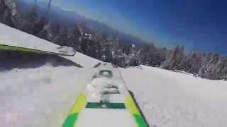 Skiing the Adirondack Mountains, NY, @ WHITEFACE LATE JANUARY