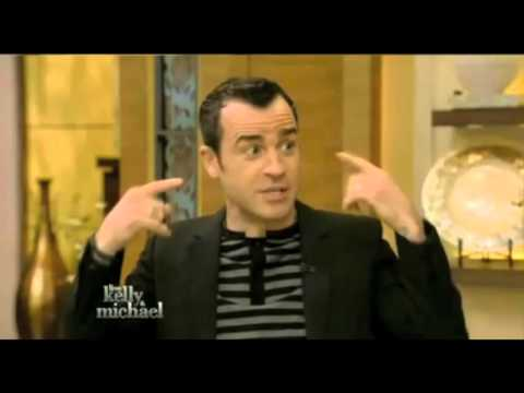 Justin Theroux on Live with Kelly & Michael