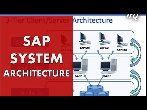SAP Training: Beginners Guide - Learn SAP ABAP - SAP System Architecture