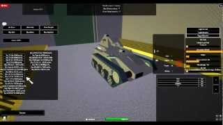Roblox L'ets Play W.o.T : Part 1 looking the tank