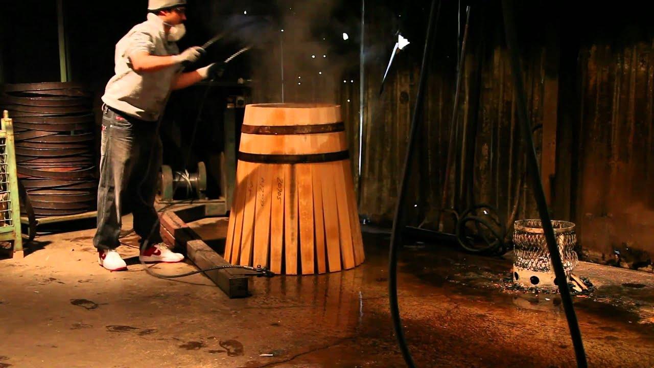 How Wine Barrels Are Made Cooperage Oak Barrel Making