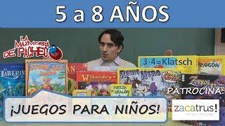 Juegos para niños de 5 a 8 años