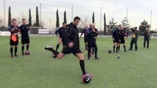 Cristiano Ronaldo en entranement pour PES 2013 (Partie 2)
