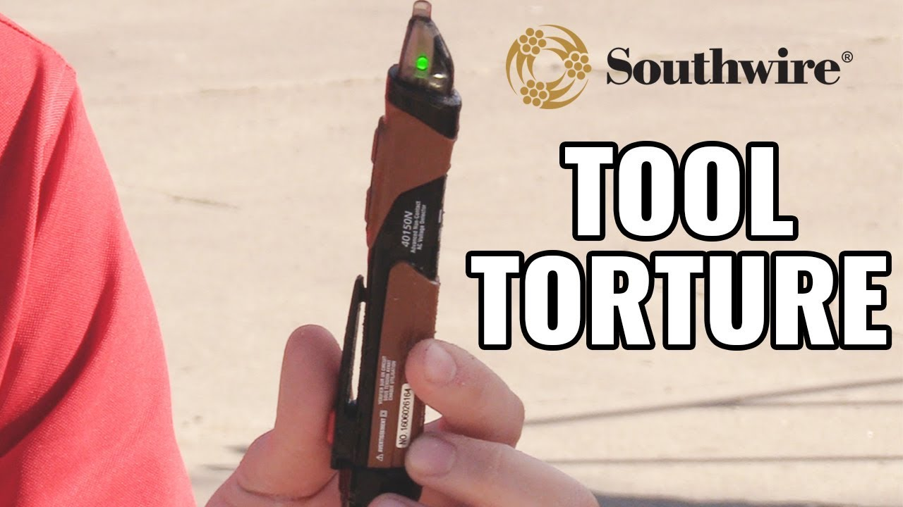 Tool Torture: Southwire NCV Detector - YouTube
