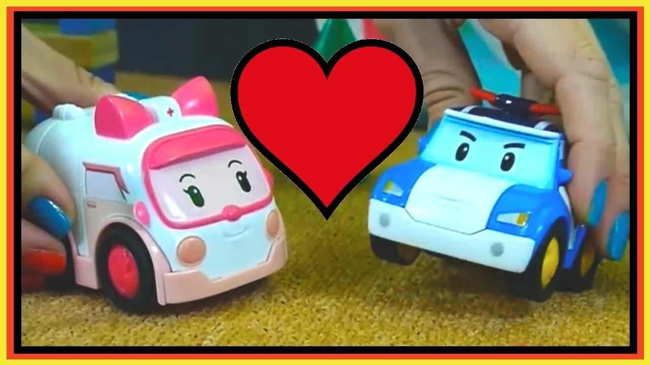 Toy cars for kids love games robocar poli amber children 39 s - Robocar poli ambre ...