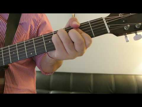 "Frank Ocean - ""American Wedding"" How to Play Guitar (Easy!! Guitar Tutorial!!)"