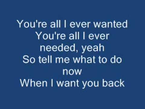 I want you back - NSYNC