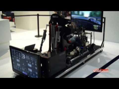 Simulador de conducci n sal n del autom vil de barcelona - Simulador de salones ...