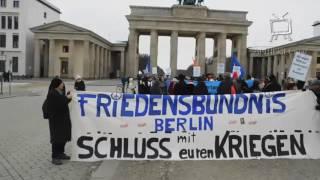Rede Lühr Henken - Mahnwache Berlin 7.1.2017 - Truppenverlegung stoppen! - Bremerhavener Appell