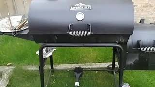 672e8b4de23 Rivergrille Cattleman 29 In Charcoal Grill And Smoker