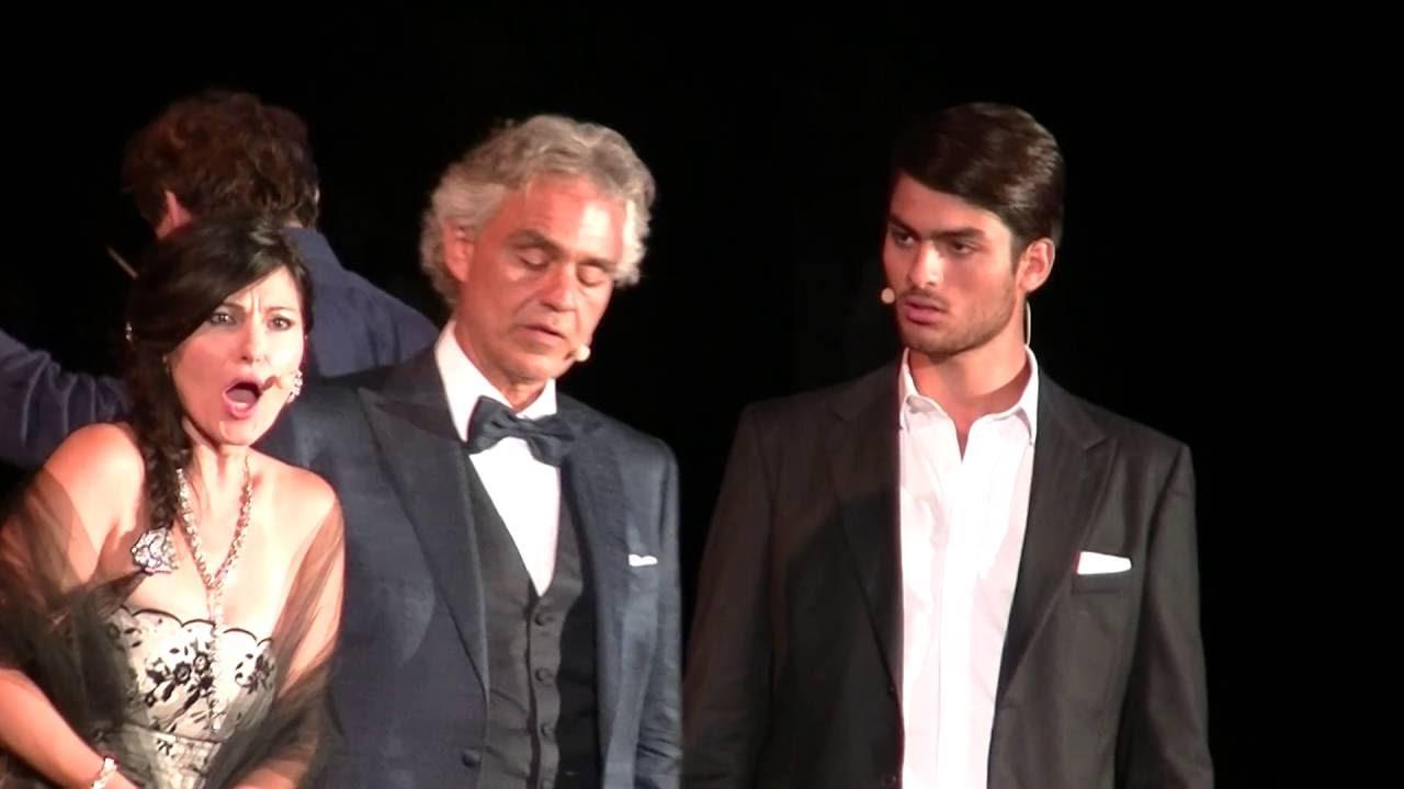 Andrea Bocelli - con Matteo Bocelli - Le Cirque - ( Il Trovatore ) - YouTube