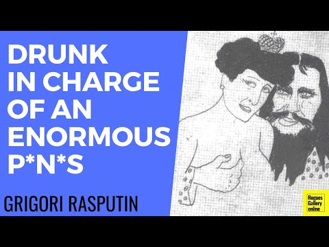 Rasputin,drunk in charge of an enormous penis-Rogues Gallery Online