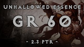 Diablo 3 | Unhallowed Essence Demon Hunter GR60 (2.3)