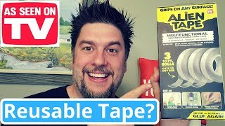 Alien Tape review: As Seen TV Alien Tape put to the test: Nano Tape
