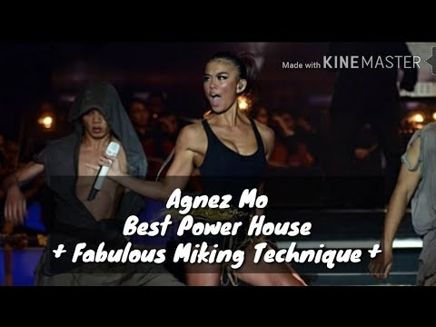 MIKING HAMPIR 1 METER ??? Agnez Mo - Best Female Power House in Indonesia