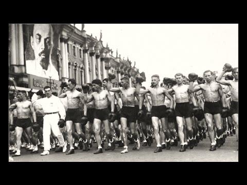 Парад физкультурников /  Parade of Athletes - Leningrad 1933
