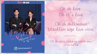 Kihyun & SeoA – Love Virus  [Lyrics Rom+Indo] Terjemahan Indonesia