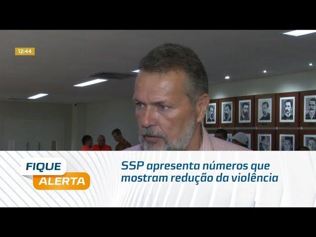 SSP apresenta números que mostram redução da violência em Alagoas