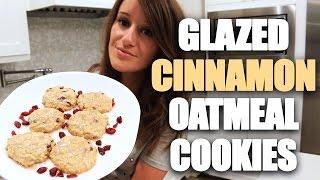 Making Cinnamon Oatmeal Cookies!