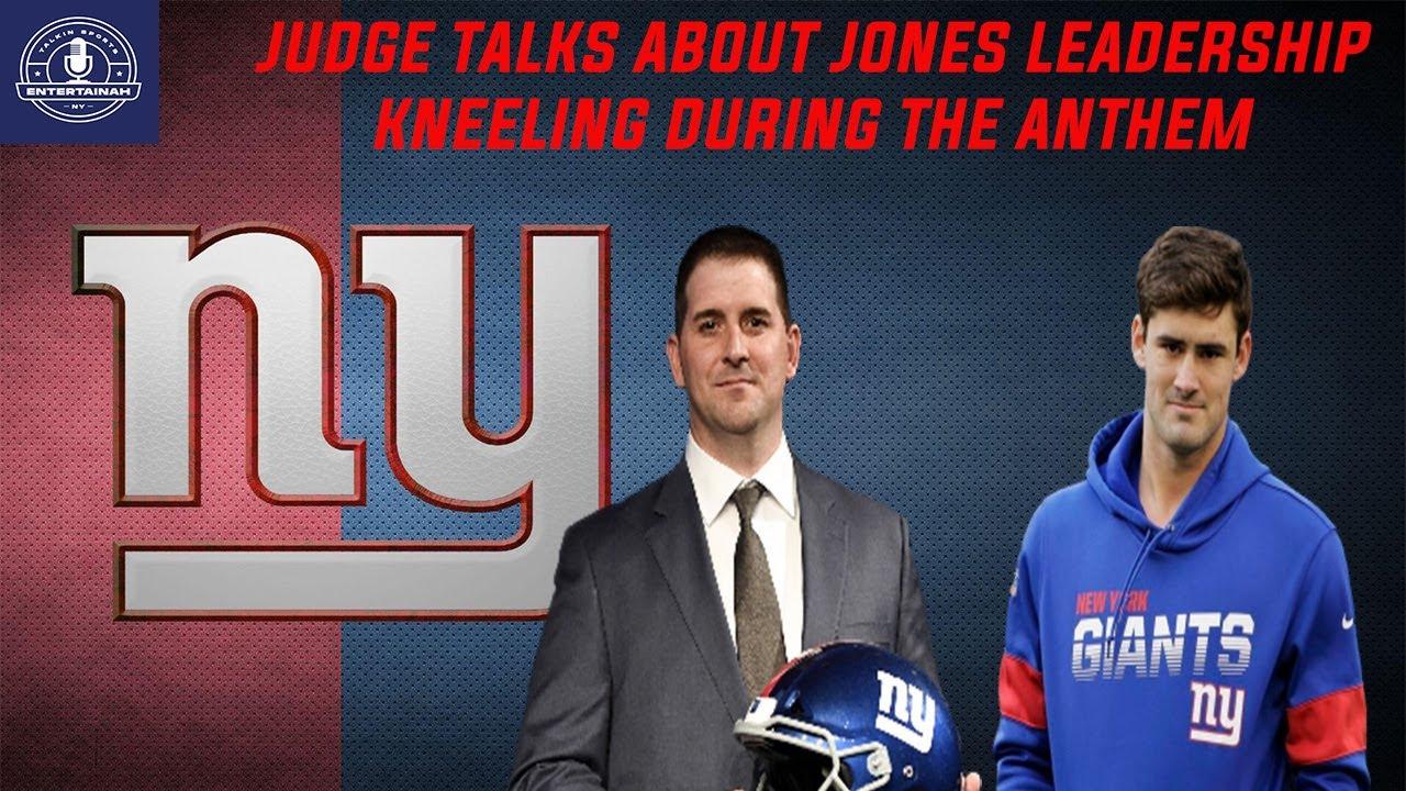 New York Giants | Joe Judge talks about Daniel Jones leadership! | Touches on National Anthem