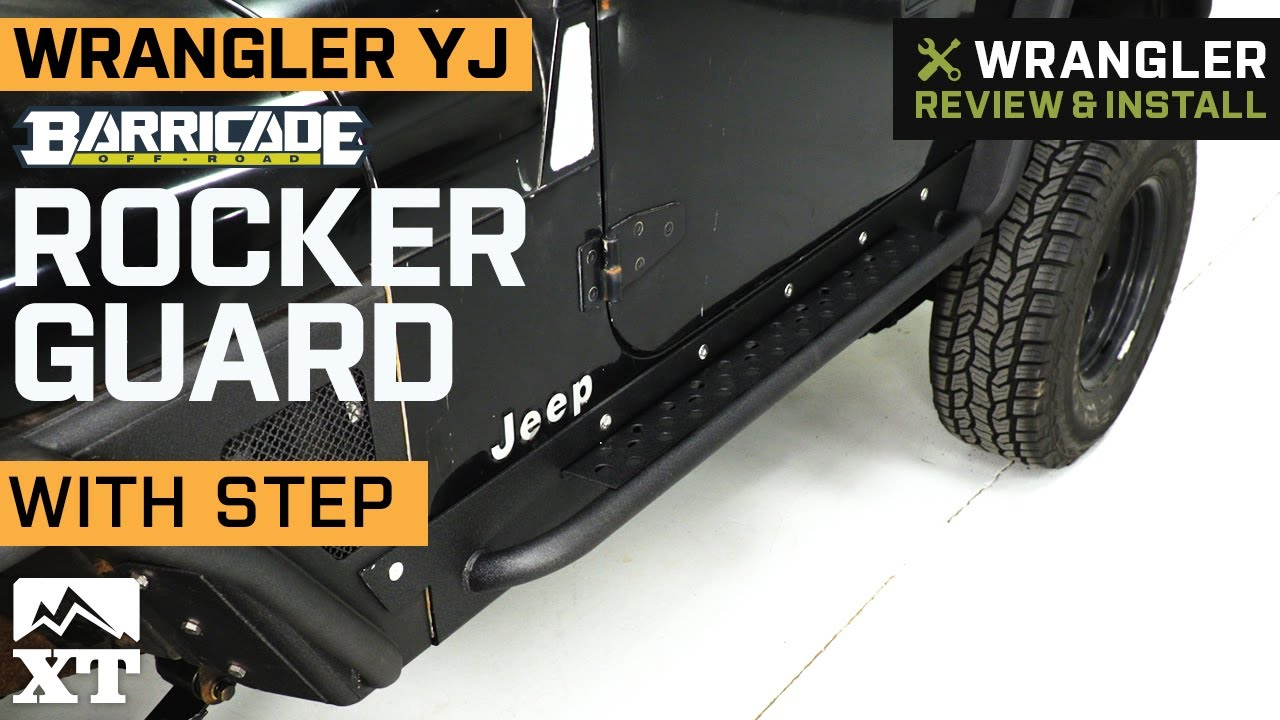 Barricade J100299 YJ Rocker Guard with Step