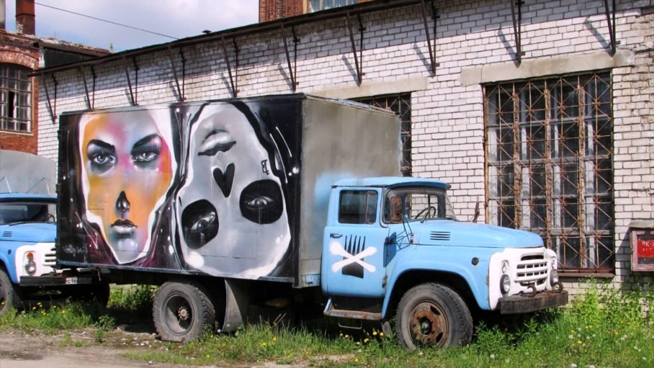 Брошенные и списанные грузовики на территории России