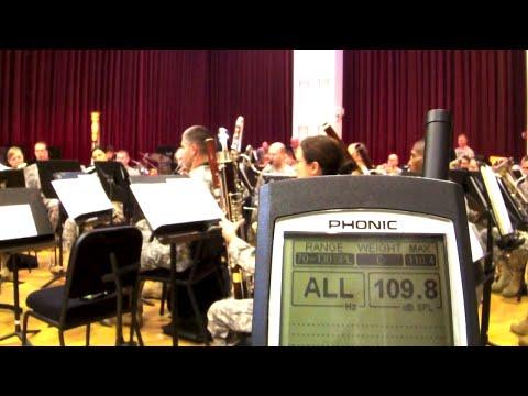 Jet Airplane vs. Military Band!