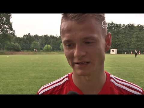 Bartłomiej Olszewski o meczu sparingowym z FK Fotbal Trinec